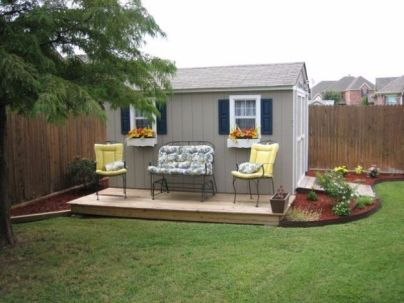 Easy and cheap outdoor spaces 30