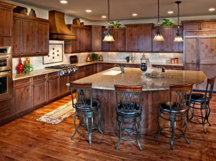 Fascinating kitchen house design ideas 43