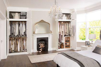 Genius stylish bedroom storage ideas 30