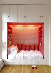Genius stylish bedroom storage ideas 42
