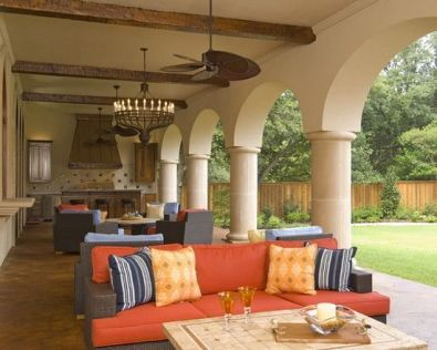 Sophisticated mediterranean porch designs youll fall in love with 11
