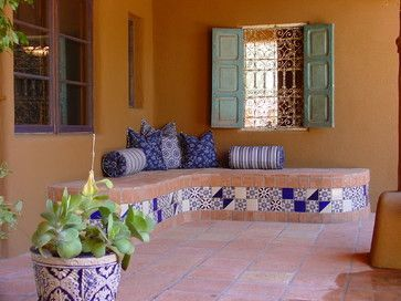 Sophisticated mediterranean porch designs youll fall in love with 39