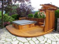 Unbelievable pictures deck landscaping excellence 05