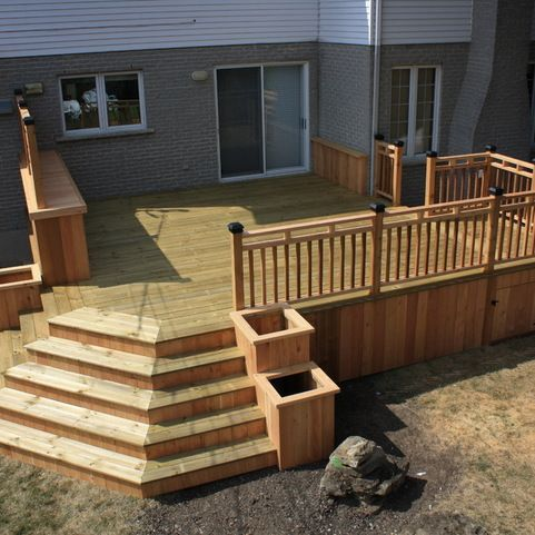 Unbelievable pictures deck landscaping excellence 06