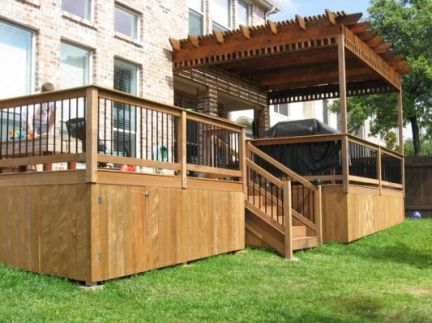 Unbelievable pictures deck landscaping excellence 08