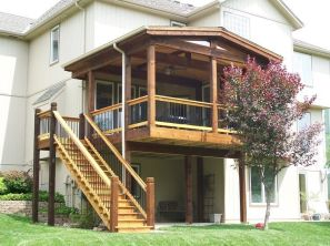 Unbelievable pictures deck landscaping excellence 09