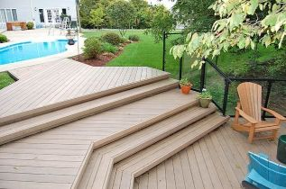 Unbelievable pictures deck landscaping excellence 12