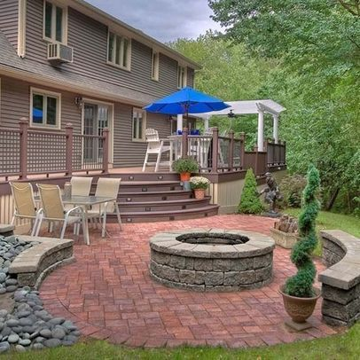 Unbelievable pictures deck landscaping excellence 13