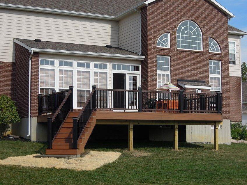 Unbelievable pictures deck landscaping excellence 18