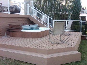 Unbelievable pictures deck landscaping excellence 21