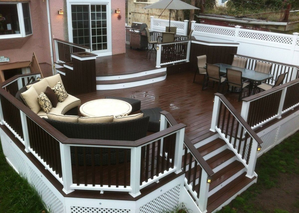 Unbelievable pictures deck landscaping excellence 24