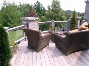 Unbelievable pictures deck landscaping excellence 29