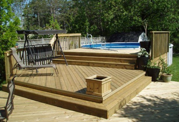 Unbelievable pictures deck landscaping excellence 31