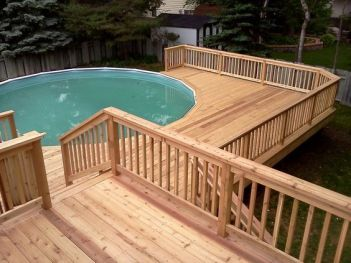 Unbelievable pictures deck landscaping excellence 39