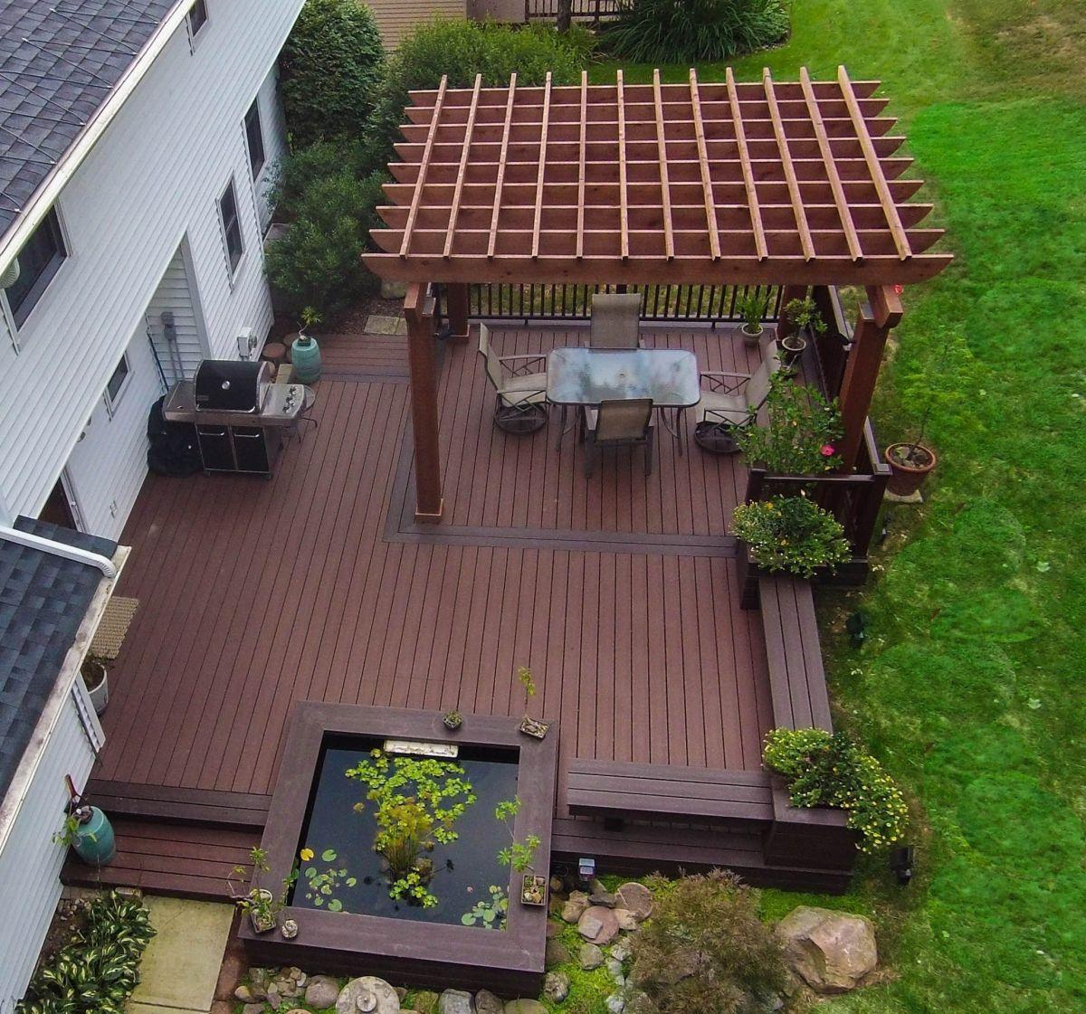 Unbelievable pictures deck landscaping excellence 40