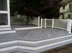 Unbelievable pictures deck landscaping excellence 42
