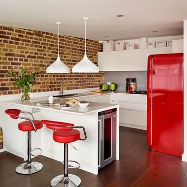 Well passionate red kitchen designs that you must see 12