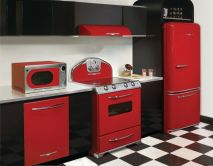 Well passionate red kitchen designs that you must see 22