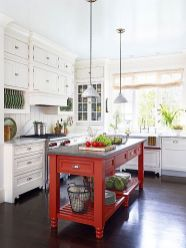 Well passionate red kitchen designs that you must see 35
