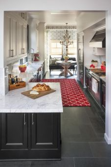 Well passionate red kitchen designs that you must see 37