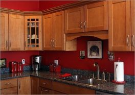 Well passionate red kitchen designs that you must see 42