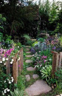 Amazing rustic garden decor ideas 06