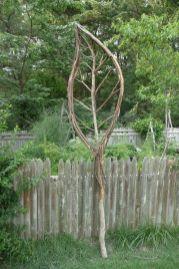 Amazing rustic garden decor ideas 21