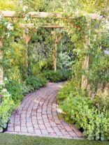 Amazing rustic garden decor ideas 42