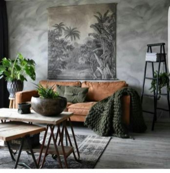 Awesome rustic industrial living room design and decor ideas 01