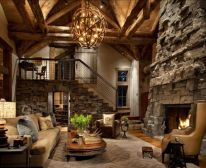 Awesome rustic industrial living room design and decor ideas 04