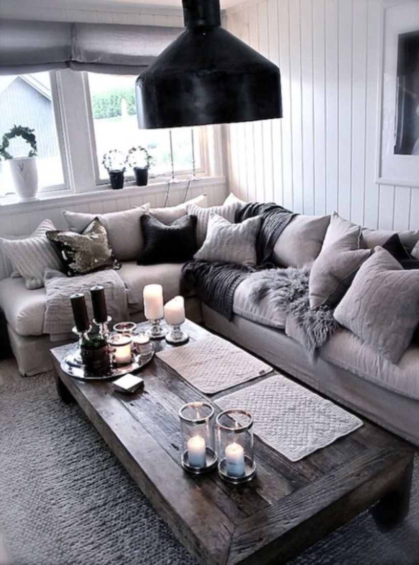 Awesome Rustic Industrial Living Room Design And Decor Ideas 12