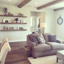 Awesome rustic industrial living room design and decor ideas 15