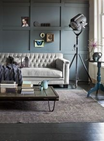 Awesome rustic industrial living room design and decor ideas 22