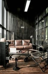 Awesome rustic industrial living room design and decor ideas 36