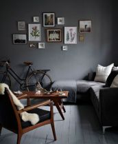 Awesome rustic industrial living room design and decor ideas 37