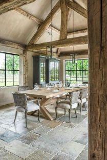Classic and elegant european farmhouse decor ideas 37