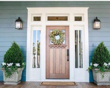 Creative interior transom door design ideas 35