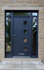 Elegant front door design ideas for your house 08