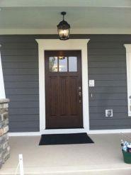 Elegant front door design ideas for your house 22