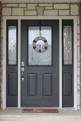 Elegant front door design ideas for your house 23