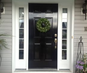 Elegant front door design ideas for your house 27
