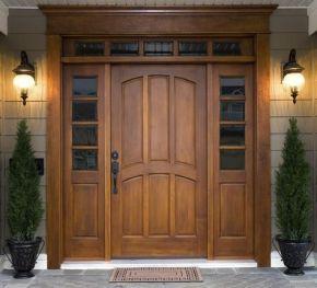 Elegant front door design ideas for your house 28