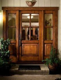 Elegant front door design ideas for your house 39