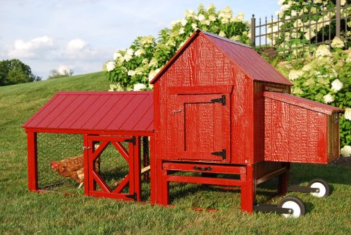 Extraordinary chicken coop decor ideas 01
