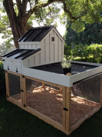 Extraordinary chicken coop decor ideas 06