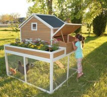 Extraordinary chicken coop decor ideas 26