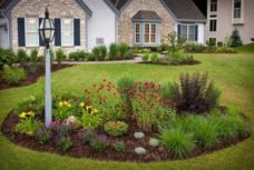 Impressive small front yard landscaping ideas 42