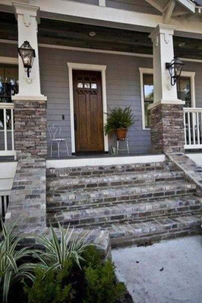 Most stylish farmhouse front door design ideas 07