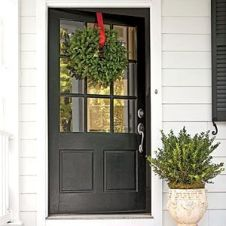 Most stylish farmhouse front door design ideas 10