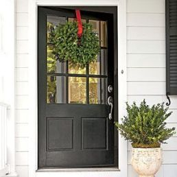 Most stylish farmhouse front door design ideas 10